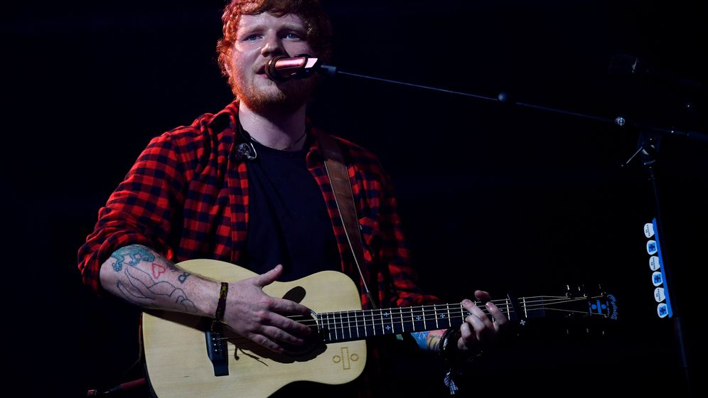"Ed Sheeran: Ärger wegen ""Thinking Out Loud"""