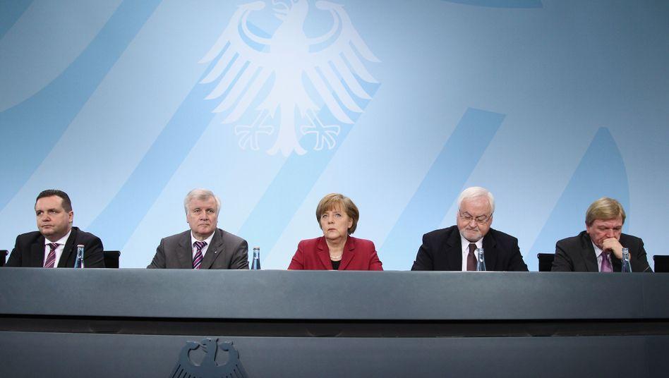 """Kanzlerin Merkel mit Länderchefs der Union: """"Japan verändert alles"""""""