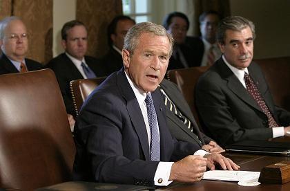 """Bush: """"Was richtig und was falsch lief"""""""