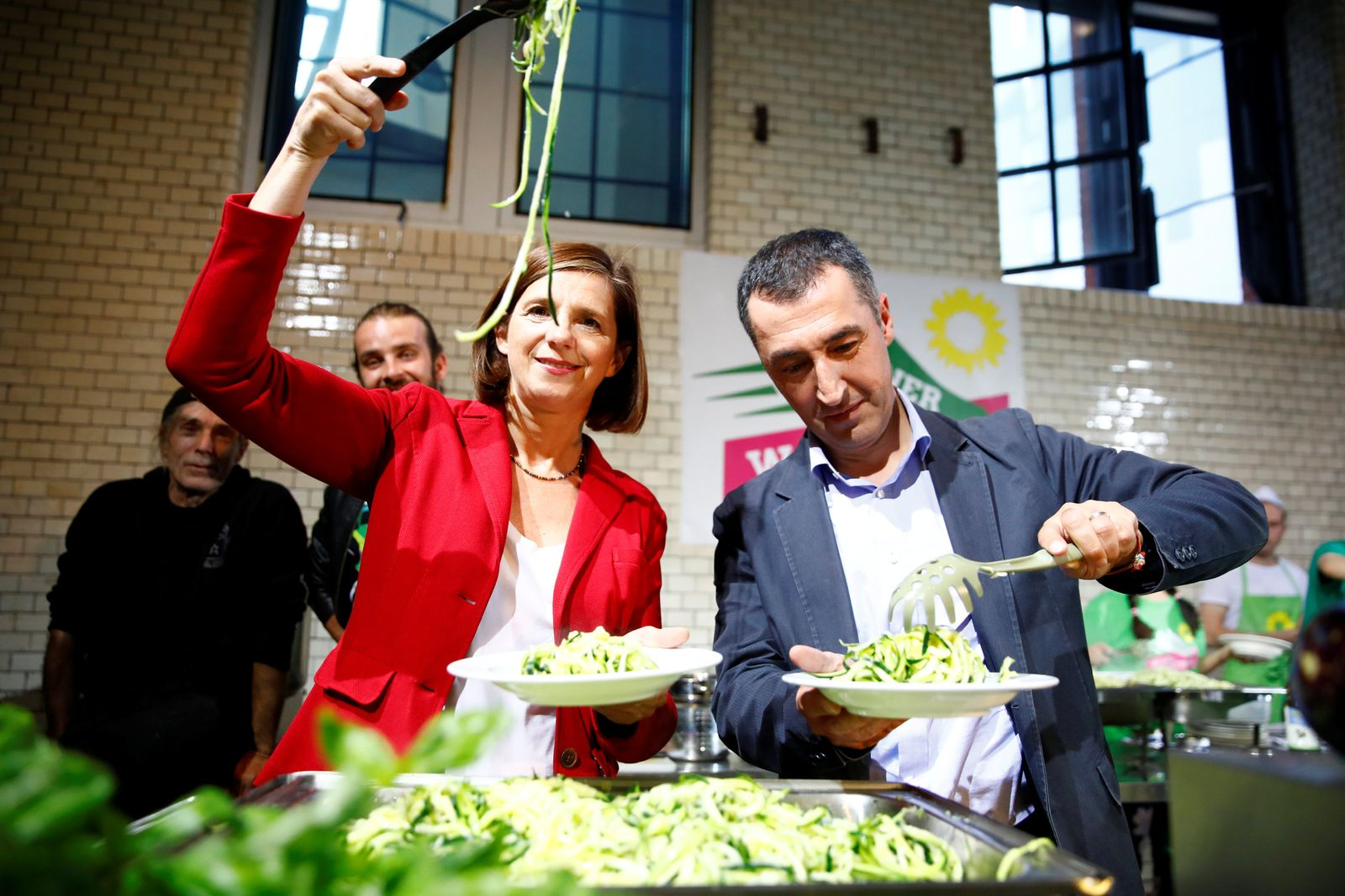 Grüne Pasta Party/ BÜNDNIS 90-DIE GRÜNEN