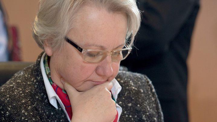 Bildungsministerin im Titelkampf: Der Fall Schavan