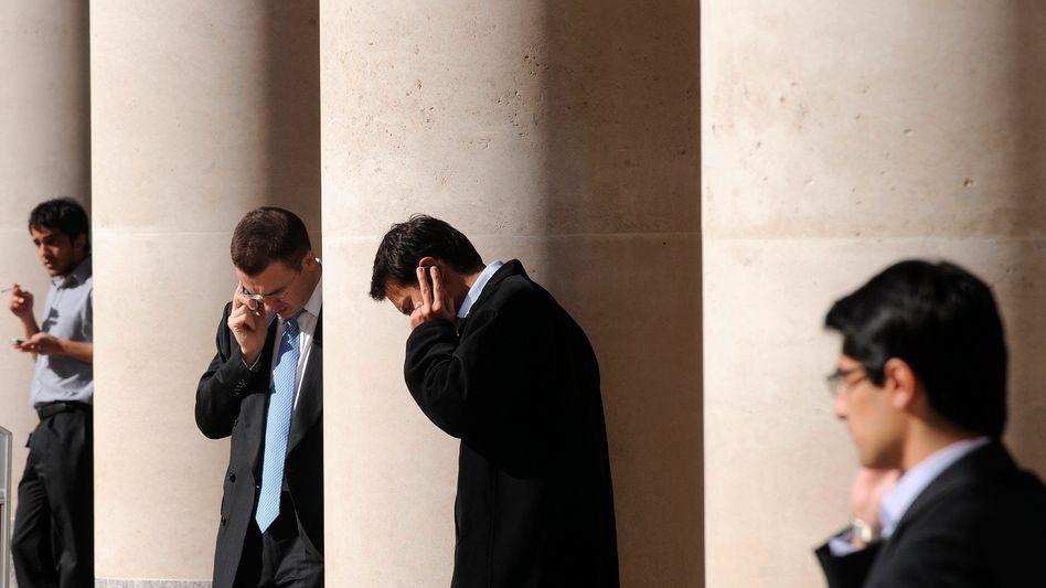 Banker in London: Uneinsichtig, raffgierig, fehlende Reformbereitschaft