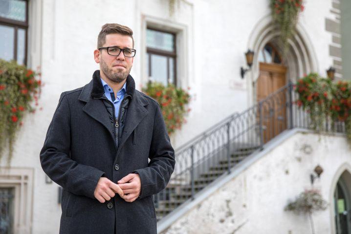 Schmöllns Bürgermeister Sven Schrade
