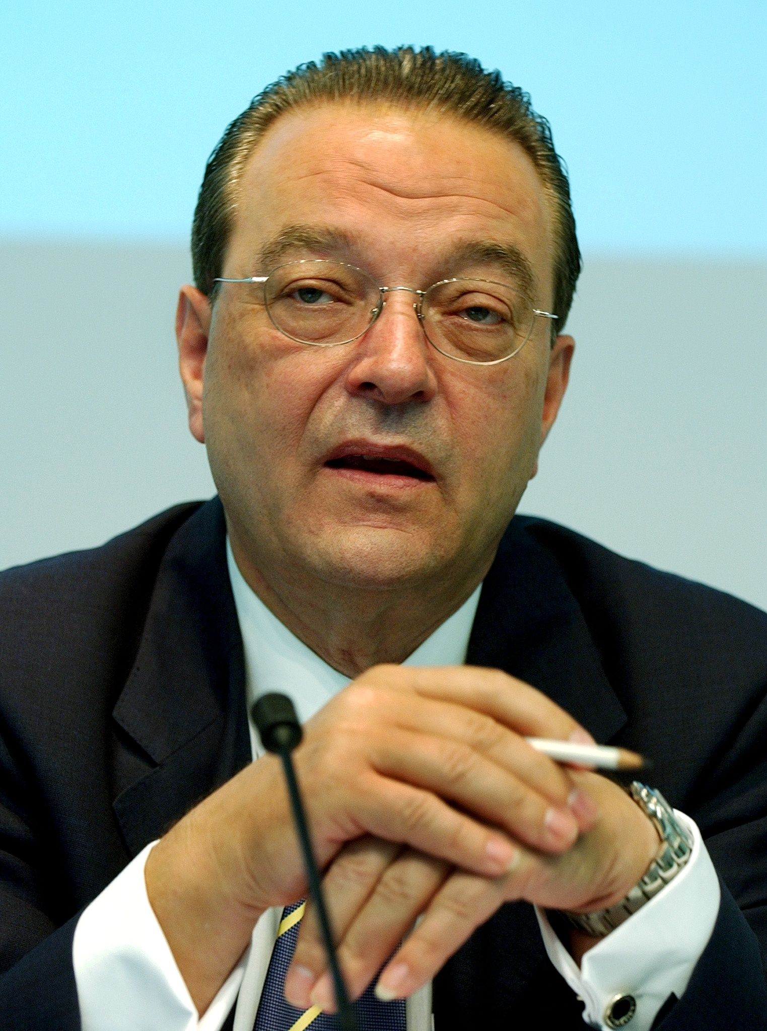 Oswald J. Grübel / CEO Credit Suisse Group