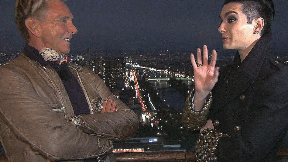 Joop, Kaulitz in »Durch die Nacht mit …«