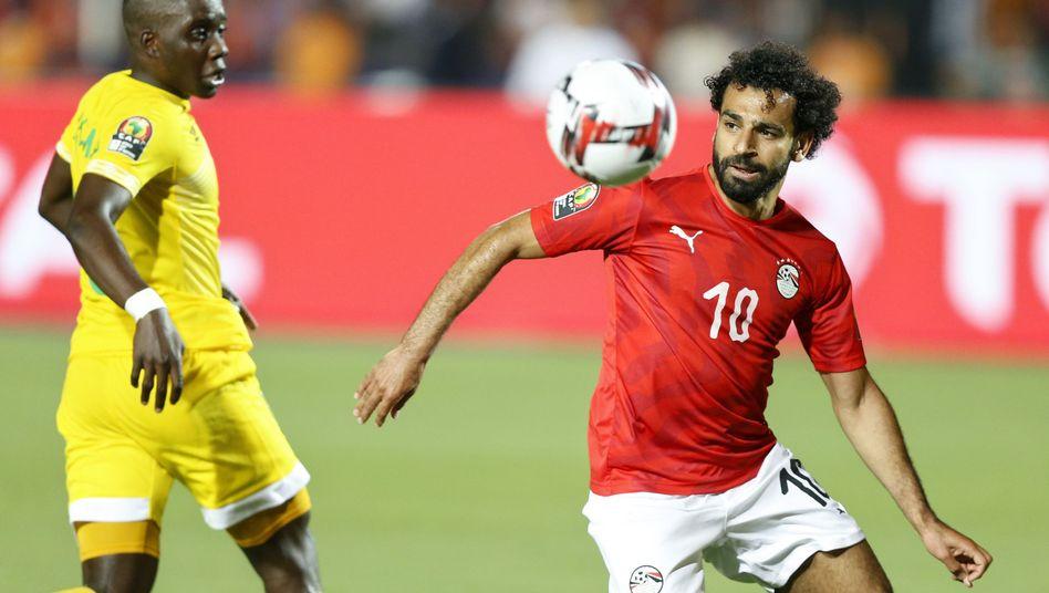 Mohamed Salah blieb im Auftaktspiel gegen Simbabwe ohne Tor.