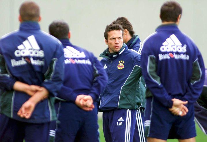 """Rapid-Trainer Matthäus (2007): """"Laufen in Schönbrunn"""""""