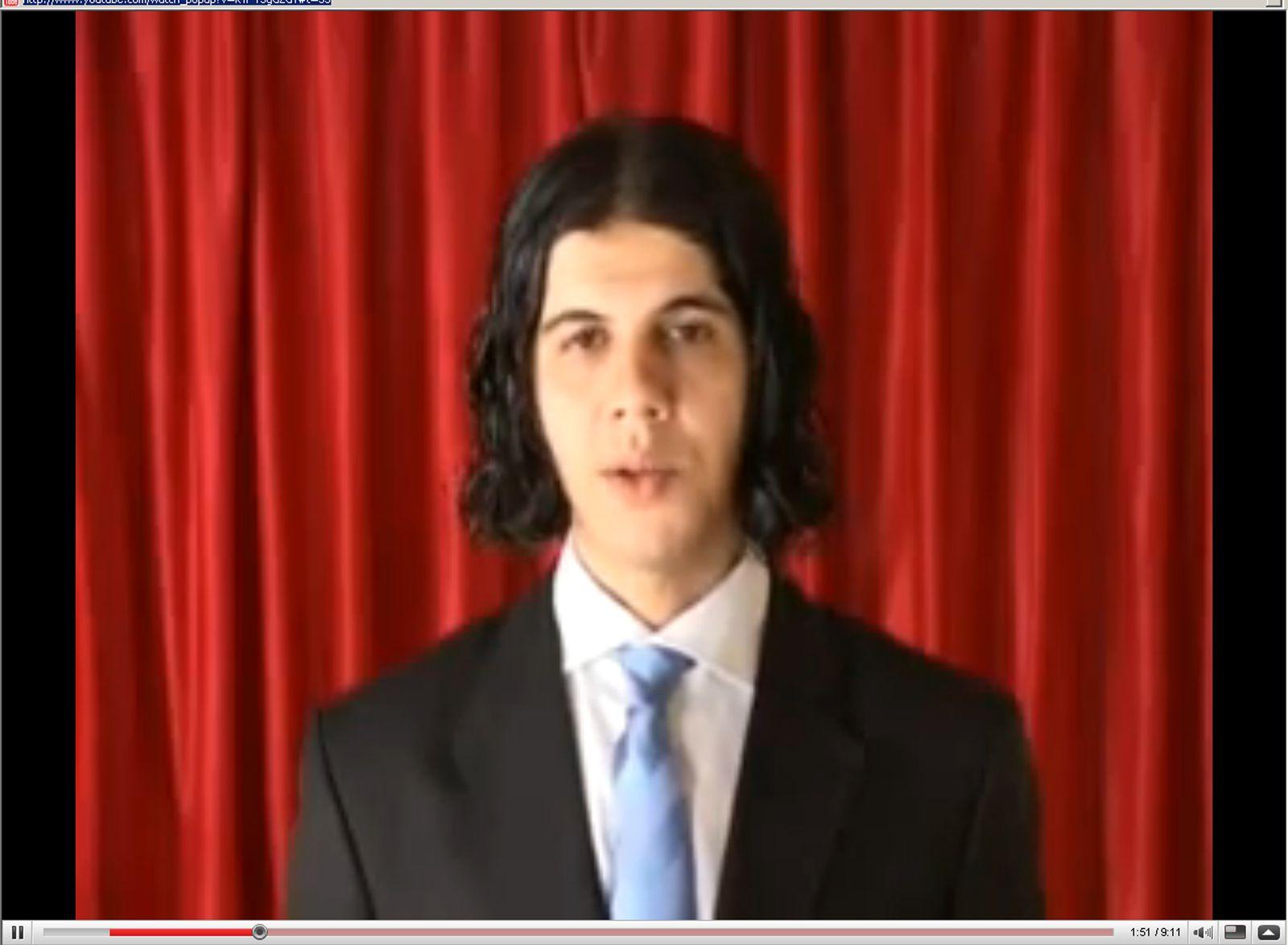 Yassin / Jahrzehnt / Islamist Harrach / Droh-Video