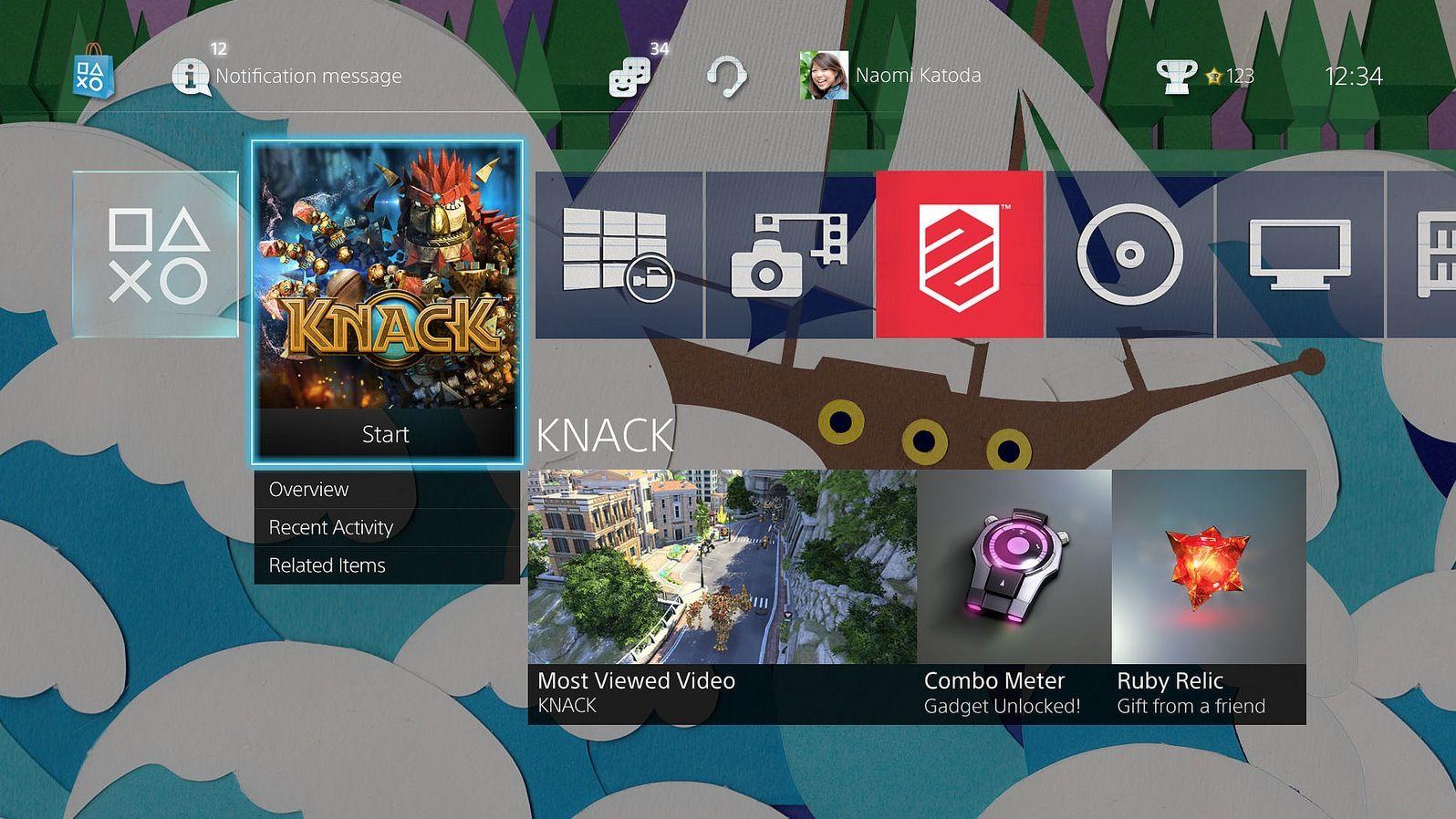 Playstation 4 Update