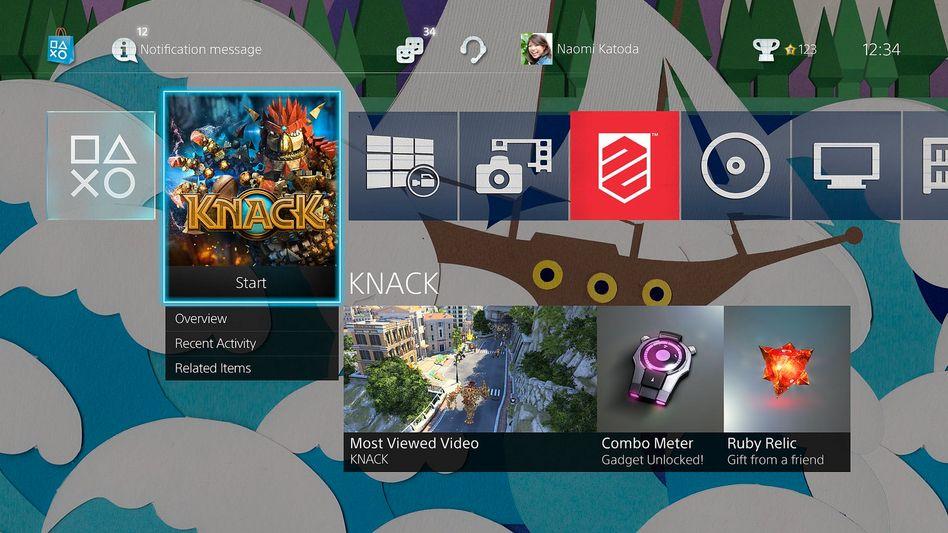 Playstation-Benutzeroberfläche mit neuem Design: Update auf Version 2.0 erschienen