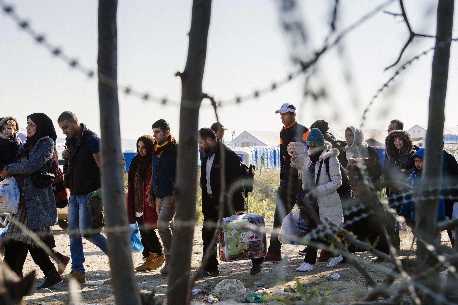 Mazedonien Griechenland Grenze