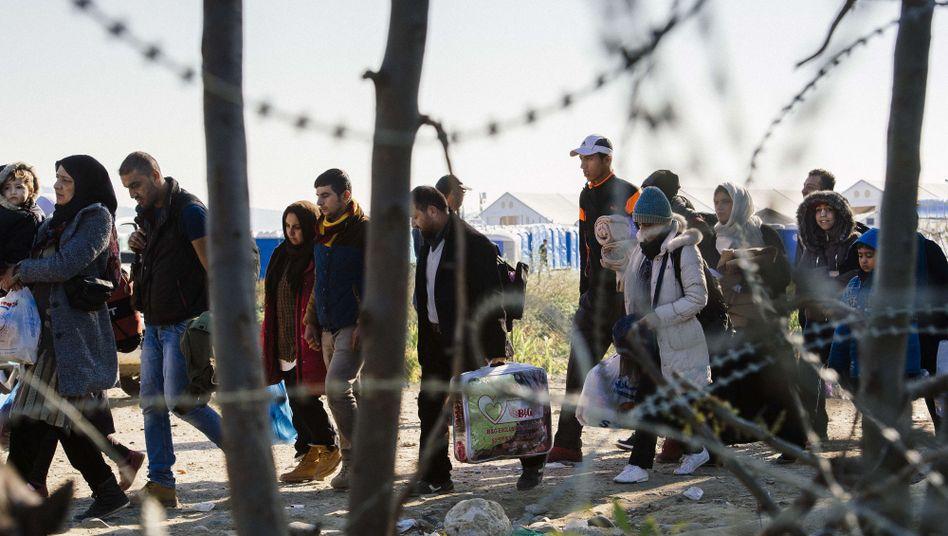 Mazedonisch-griechische Grenze: Nicht darauf vorbereitet