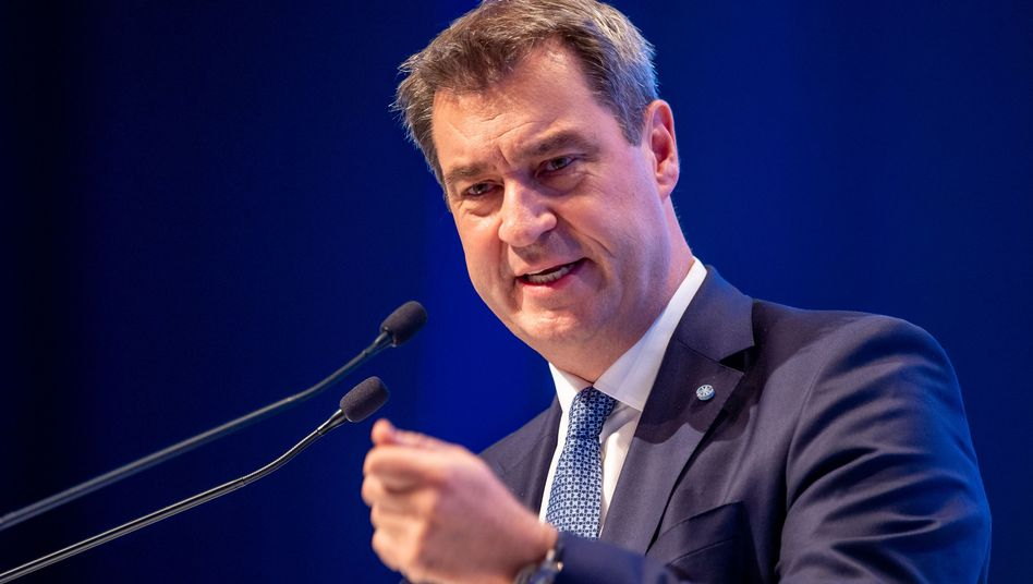 """Markus Söder, Bayerns Ministerpräsident: """"Thüringen ist eben Thüringen, nicht ganz Deutschland"""""""