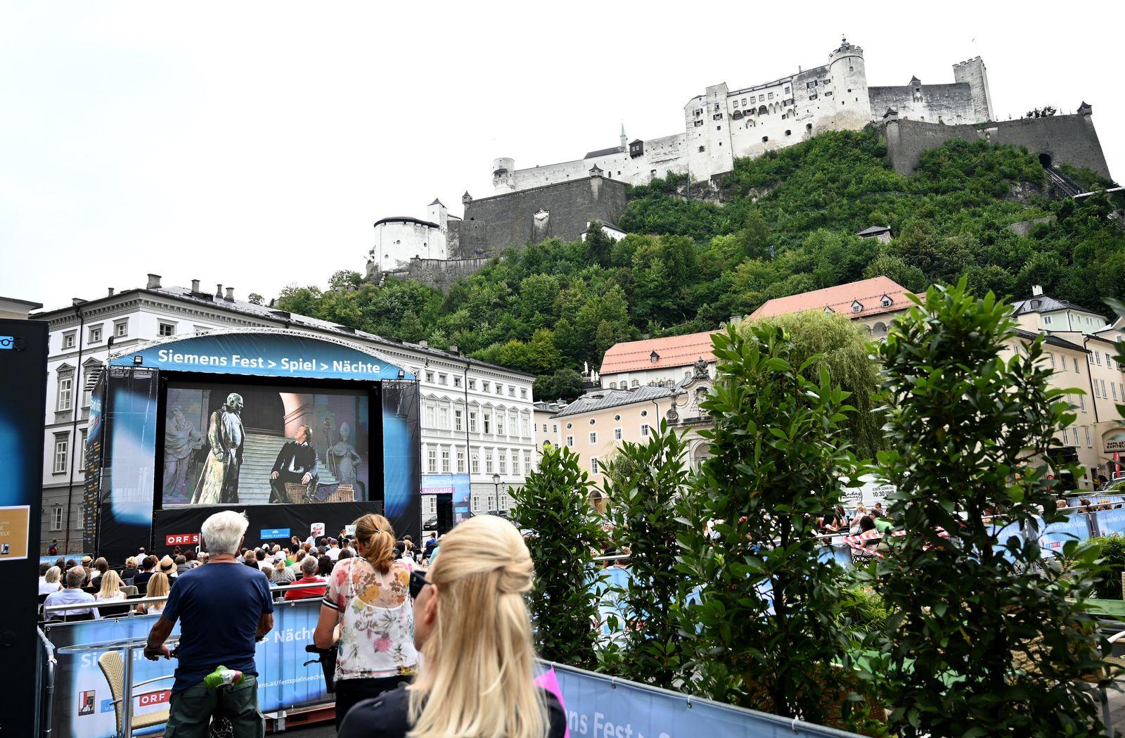 Salzburger Festspiele - «Jedermann»-Tag