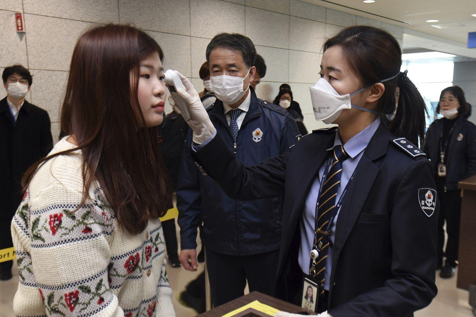 Coronavirus Südkorea