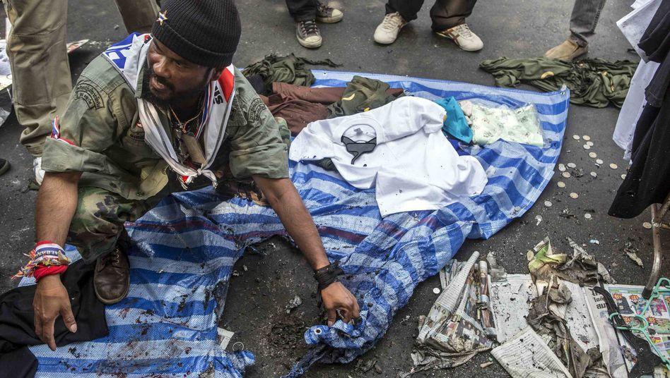 Anti-Regierungs-Proteste in Thailand: Sprengsatz in Bangkok verletzt 28 Menschen