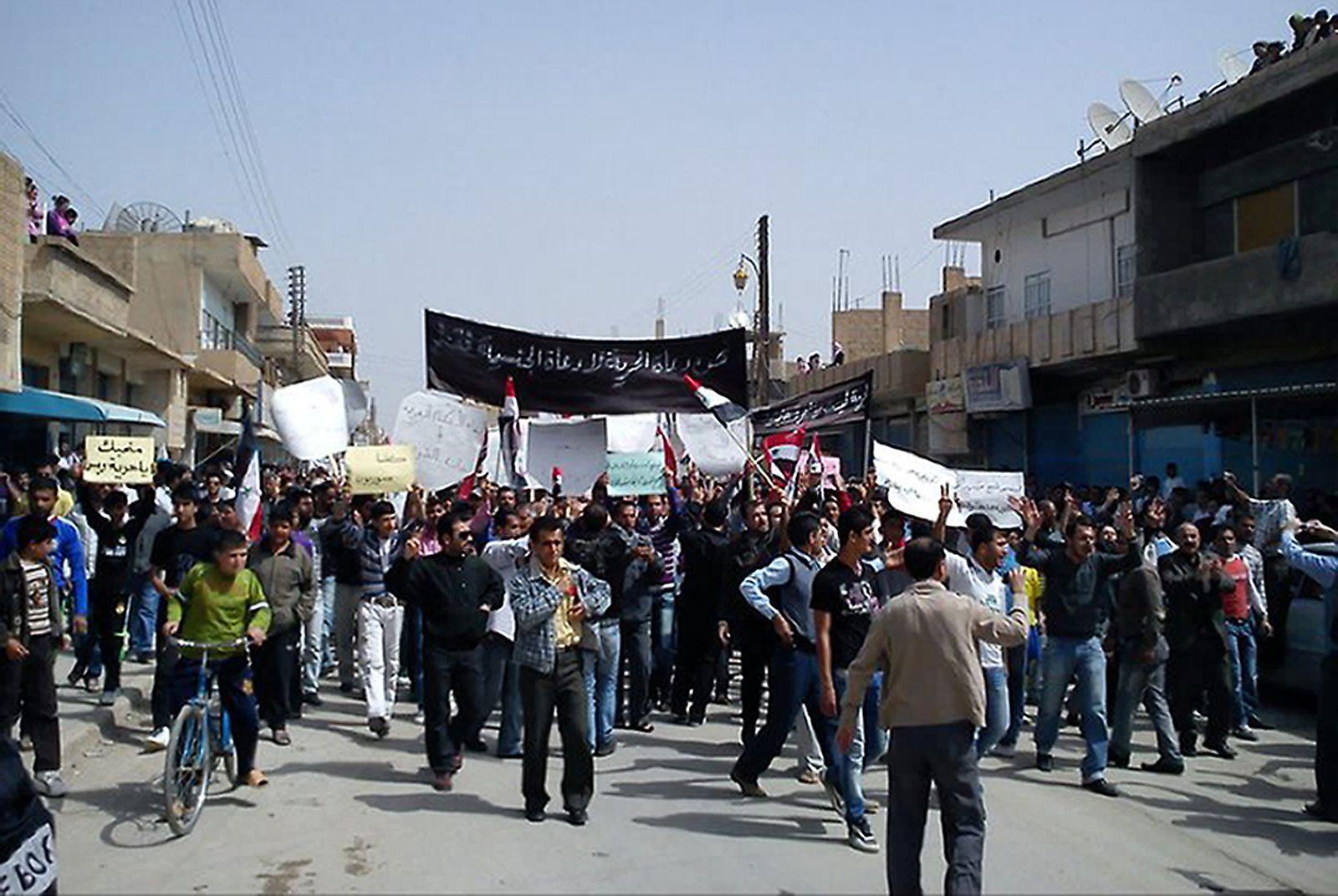 Syrien am 1. April