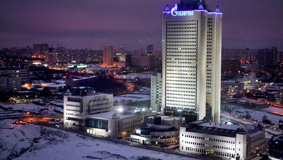Gazprom-Hauptquartier in Moskau: im Inneren des Grusel-Konzerns
