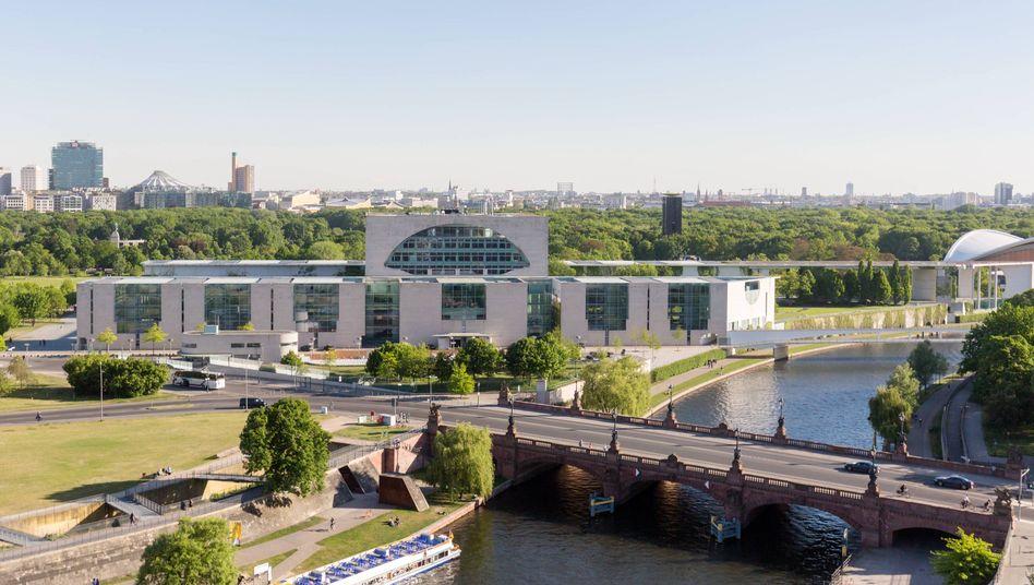 Kanzleramt im Berliner Regierungsviertel