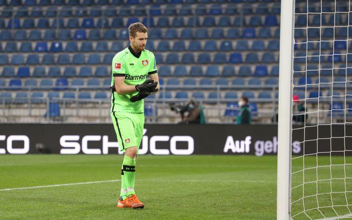 Lukáš Hrádecký sorgte für einen ganz speziellen Treffer