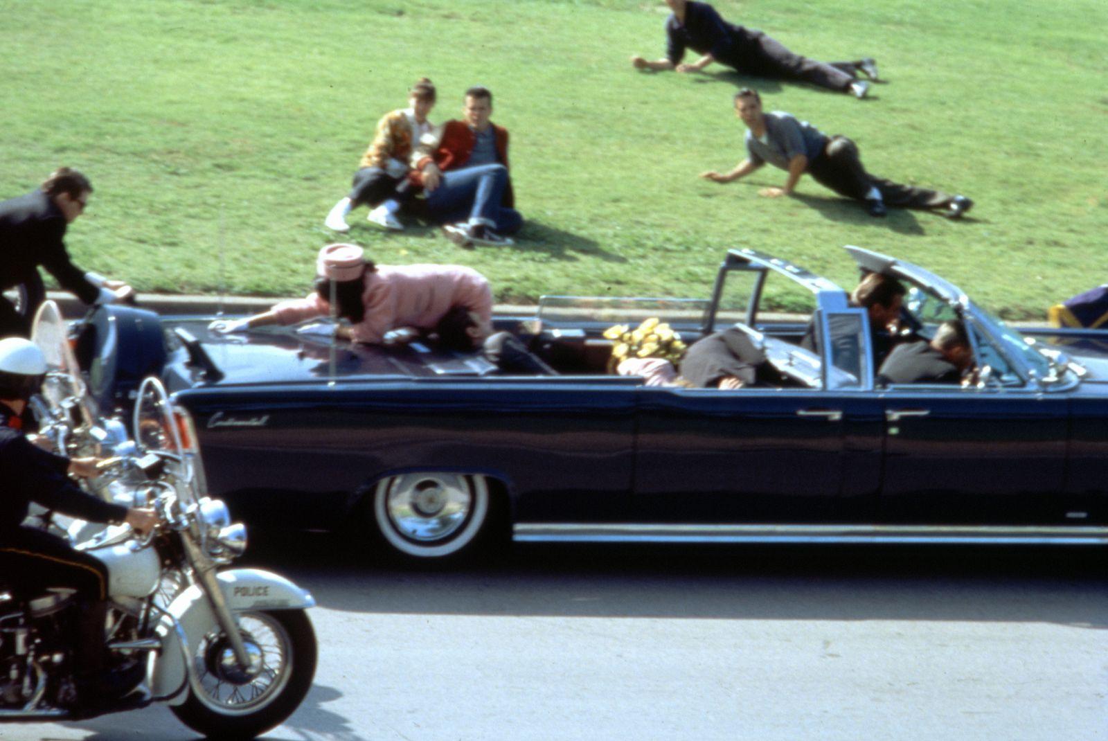 EINMALIGE VERWENDUNG Kennedy Ermordung