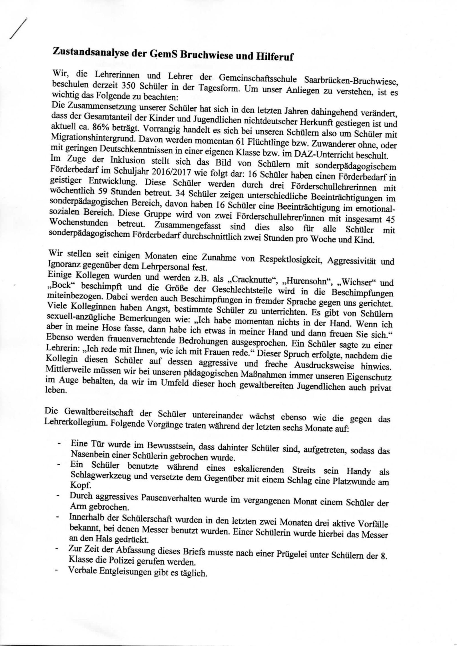 EINMALIGE VERWENDUNG Vorschaubild PDF Brandbrief #42252