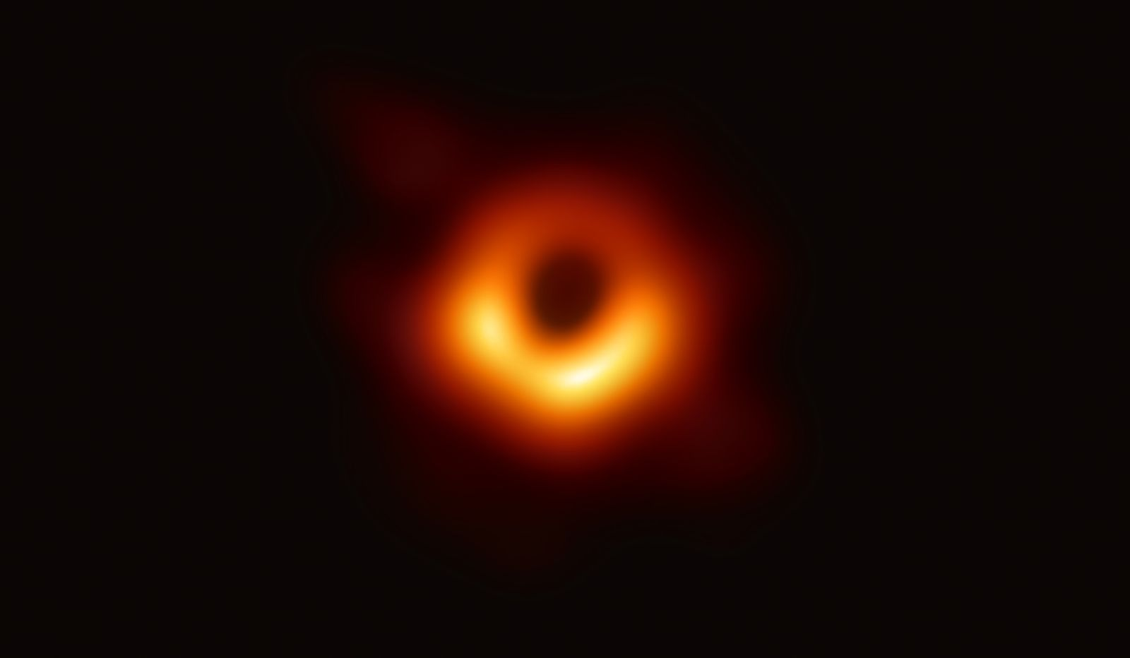 First Image of a Black Hole Revealed