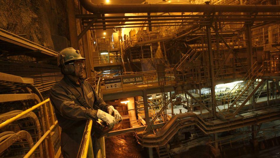 Kupferproduktion in Chile: Investoren setzen auf einen weiteren Preisanstieg bei Metallen