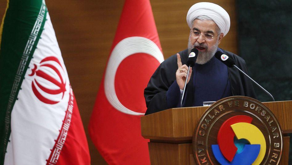 """Irans Präsident Rohani: """"Irak in jeder Weise unterstützen und beraten"""""""