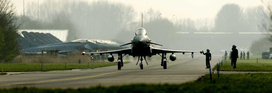 """""""Eurofighter"""" """"Typhoon"""": Flugstunden müssen reduziert werden"""