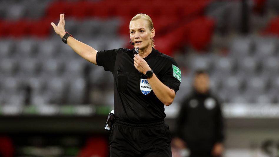 Bibiana Steinhaus leitete insgesamt 23 Spiele in der Fußball-Bundesliga der Männer