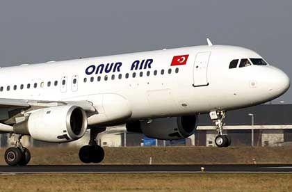 Onur Air: Streit um Fluggenehmigungen