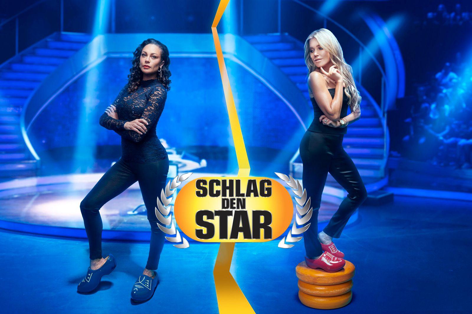 """""""Schlag den Star"""": Lilly Becker (l.) gegen Sylvie Meis (r.)"""