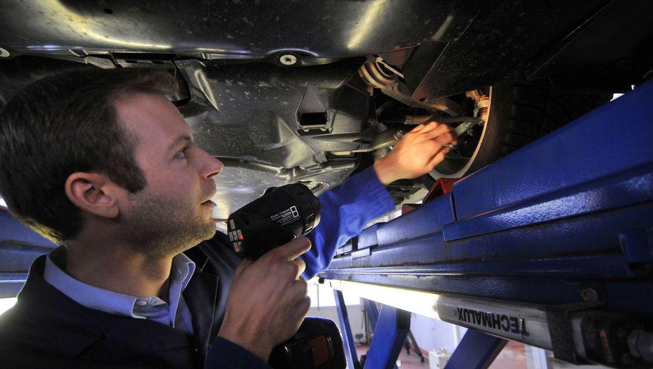 Hauptuntersuchung: Ältere Wagen in schlechtem technischen Zustand