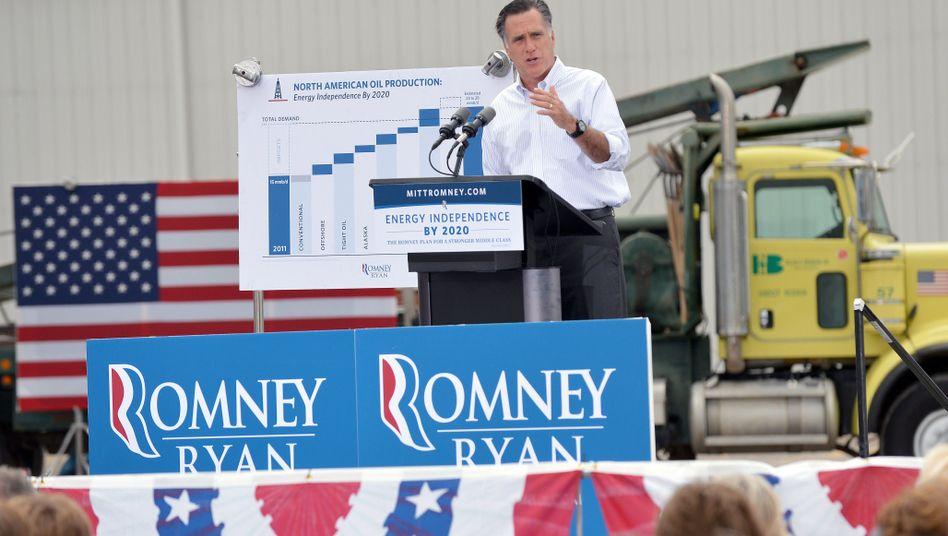 Mitt Romney stellt sein Energiekonzept vor: Mehr Öl für Amerika