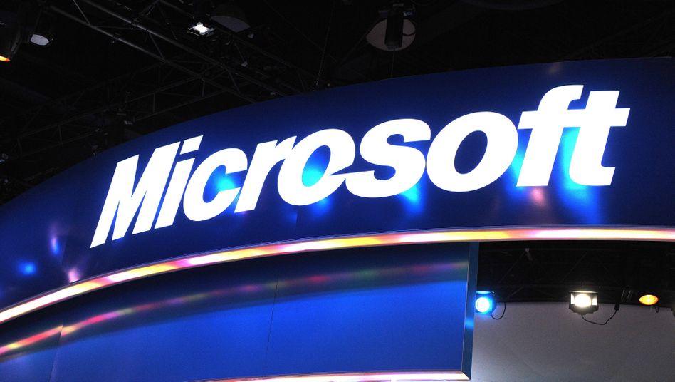 """Microsoft-Logo: """"Wir haben gemerkt, dass wir einen mutigen Schritt machen müssen"""""""