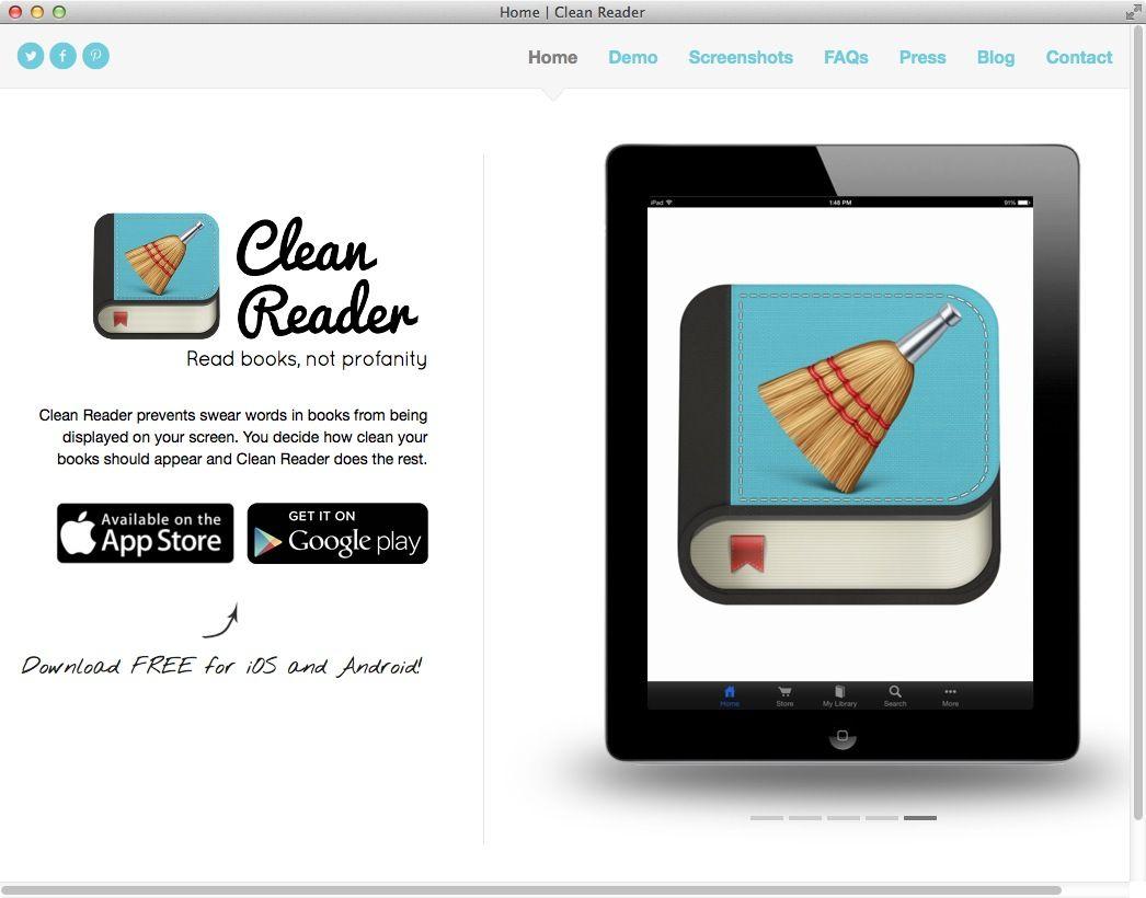 NUR ALS ZITAT Screenshot App/ Cleanreader
