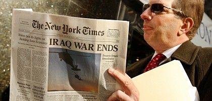 "New Yorker mit falscher ""Times""-Ausgabe: Perfekte Fälschung"