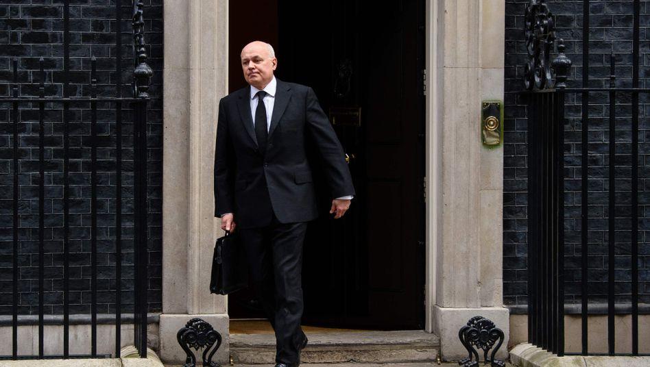 Britischer Politiker Smith