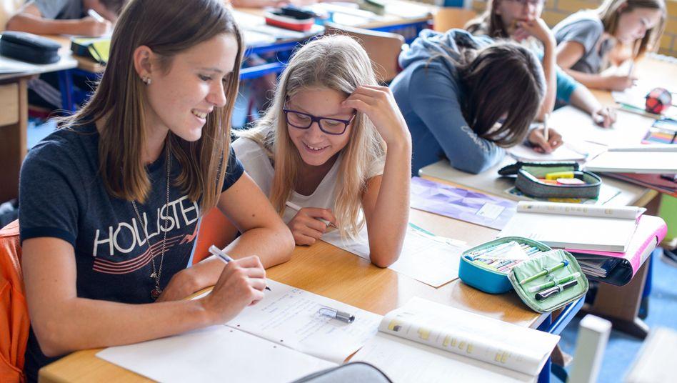 Schülerinnen in Zweibrücken