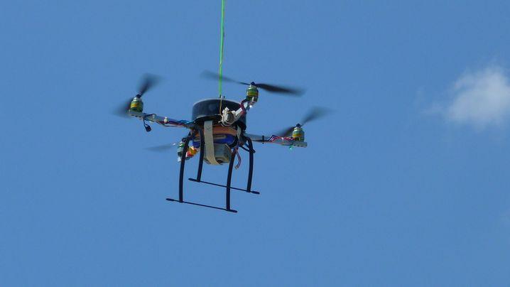 Quadrocopter: Helfen im Flug