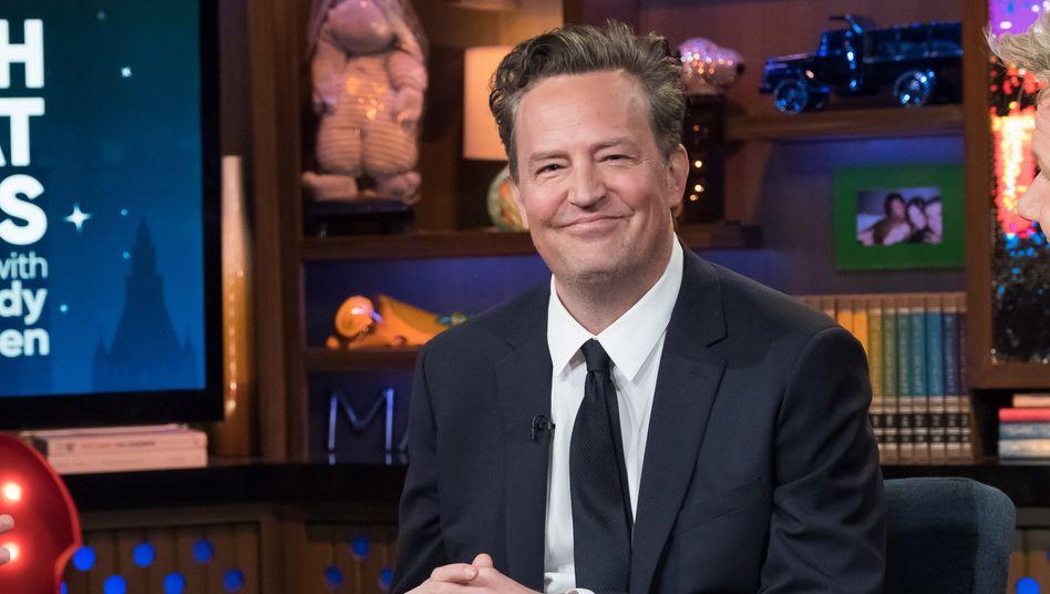Matthew Perry wurde durch seine Rolle als Chandler Bing in der US-Kultserie »Friends« berühmt