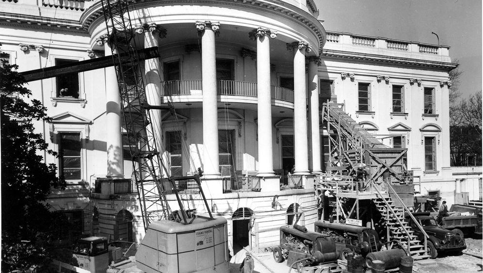 """Renovierung in 1600 Pennsylvania Avenue: """"Das alte Haus fiel schlichtweg auseinander"""""""