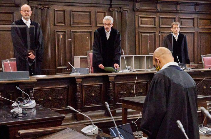 """Der Staatsschutzsenat des Hanseatischen Oberlandesgerichts: """"Sie wusste, was sie erwartet"""""""