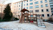 Kinder in ärmeren Stadtteilen haben weniger Spielfläche