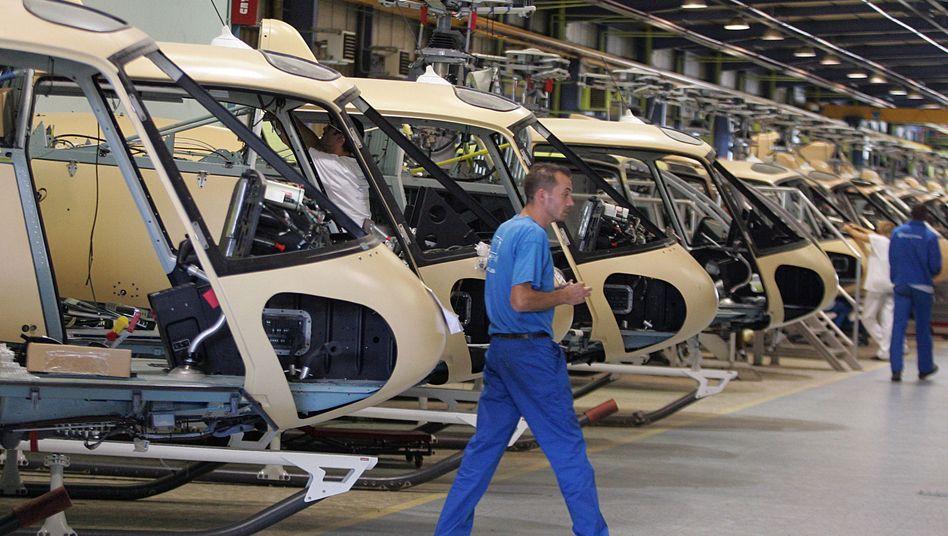 """EADS-Tochter Eurocopter: """"Im Rahmen der Erwartungen"""""""