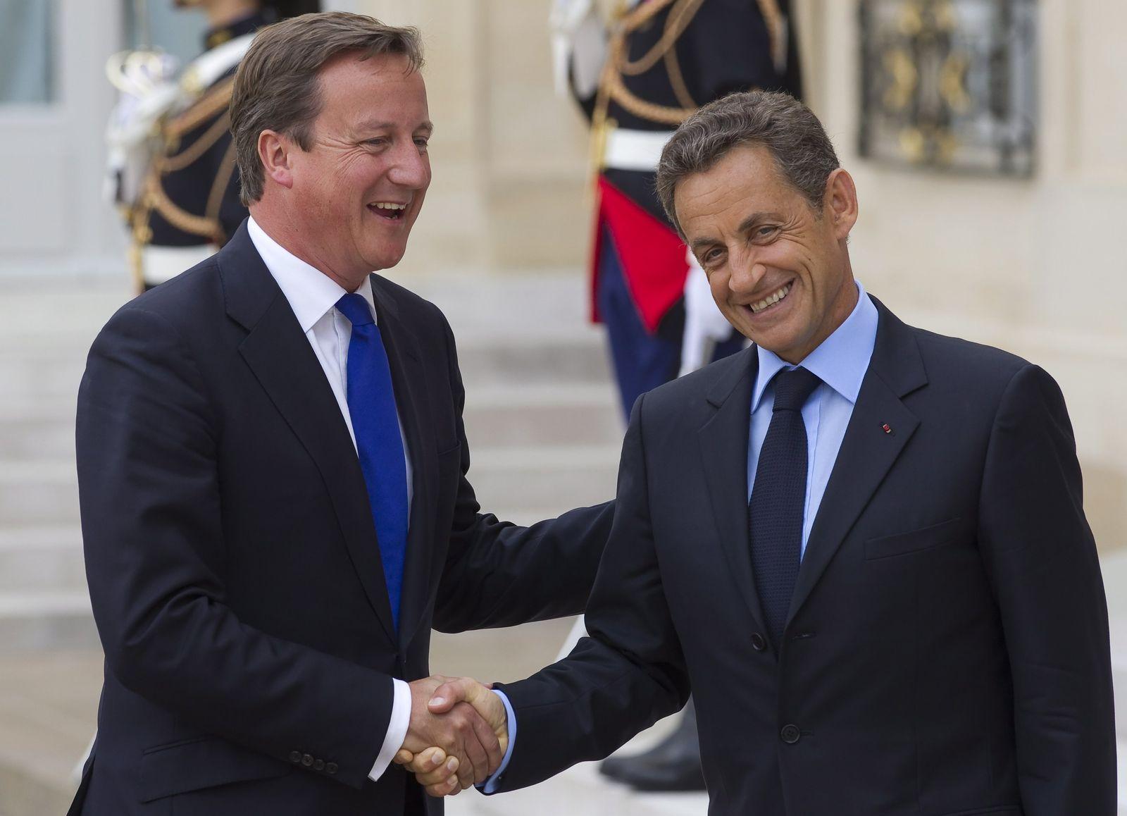 Sarkozy / Cameron / Paris
