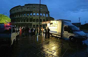 Rom: Die erstaunlichste Stadt des Universums liegt im Dunkeln