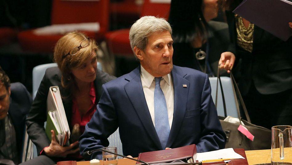 """US-Außenminister Kerry in New York: """"Das ist erreichbar"""""""