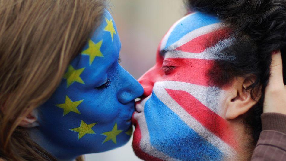 Die EU und Großbritannien: neue Liebe?